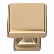 Atlas Homewares - A201-WB - Kate Knob 1 1/4 Inch - Warm Brass