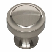 Atlas Homewares - A300-BRN - Bradbury Knob 1 1/4 Inch - Brushed Nickel