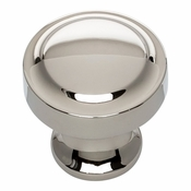 Atlas Homewares - A300-PN - Bradbury Knob 1 1/4 Inch - Polished Nickel
