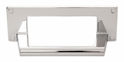 Atlas Homewares - A301-CH - Bradbury Cup Pull 3 Inch - Polished Chrome