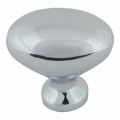 Atlas Homewares - A804-CH - Robin Egg Knob - Polished Chrome