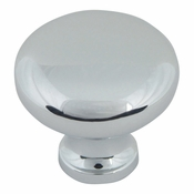 Atlas Homewares - A819-CH - Round Knob - Polished Chrome