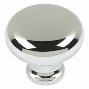 Atlas Homewares - A819-PN - Round Knob - Polished Nickel