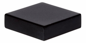 Atlas Homewares - A833-BL - Thin Square Knob - Matte Black