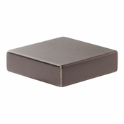 Atlas Homewares - A833-SL - Thin Square Knob 1 1/4 Inch - Slate