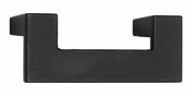Atlas Homewares - A846-BL - U-Turn Pull 64 MM CC - Matte Black
