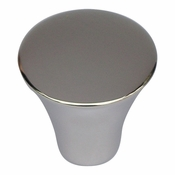 Atlas Homewares - A855-PS - Fluted Knob - Polished Stainless Steel
