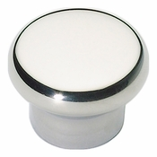 Atlas Homewares - A856-PS - Round Knob - Polished Stainless Steel
