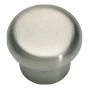 Atlas Homewares - A856-SS - Round Knob - Stainless Steel