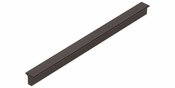 Atlas Homewares - A861-BL - T Bar Pull 160 MM CC - Matte Black