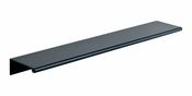 Atlas Homewares - A863-BL - Tab Edge Pull 224 MM CC - Matte Black