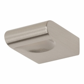 Atlas Homewares - A877-BN - Round Rail Knob - Brushed Nickel