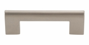 "Atlas Homewares - A878-BN - Round Rail Pull 3"" CC - Brushed Nickel"