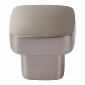 Atlas Homewares - A908-BN - Chunky Square Knob Small 1 Inch - Brushed Nickel