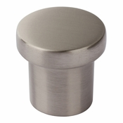 Atlas Homewares - A911-BN - Chunky Round Knob Small 1 Inch - Brushed Nickel