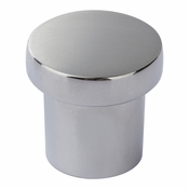 Atlas Homewares - A911-CH - Chunky Round Knob Small 1 Inch - Polished Chrome