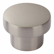 Atlas Homewares - A912-BN - Chunky Round Knob Medium 1 7/16 Inch - Brushed Nickel