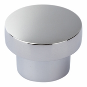 Atlas Homewares - A912-CH - Chunky Round Knob Medium 1 7/16 Inch - Polished Chrome