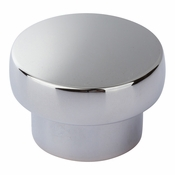 Atlas Homewares - A913-CH - Chunky Round Knob Large 1 13/16 Inch - Polished Chrome