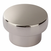 Atlas Homewares - A913-PN - Chunky Round Knob Large 1 13/16 Inch - Polished Nickel