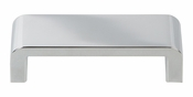 Atlas Homewares - A914-CH - Platform Pull 3 3/4 Inch - Polished Chrome