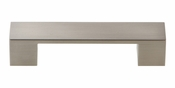 Atlas Homewares - A918-BN - Wide Square Pull 3 3/4 Inch - Brushed Nickel