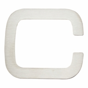 Atlas Homewares - PGNC-SS<br>Paragon Letter C<br>Stainless Steel
