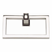 Atlas Homewares - SUTTR-PN Sutton Place Towel Ring Polished Nickel