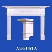 Augusta Mantel - Stain Grade - Red Oak - 36