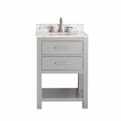 Avanity Brooks 24 in. Vanity Only in Chilled Gray Finish - BROOKS-V24-CG