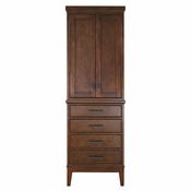 Avanity Madison 24 in. Linen Tower in Tobacco Finish - MADISON-LT24-TO