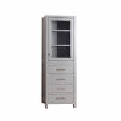 Avanity Modero 24 in. Linen Tower in Chilled Gray Finish - MODERO-LT24-CG