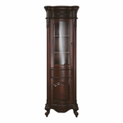 Avanity Provence 24 in. Linen Tower in Antique Cherry Finish - PROVENCE-LT24-AC