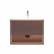 Avanity Sonoma 31 in. Vanity in Iron Wood Finish with Integrated Vitreous China Top - SONOMA-VS31-IW
