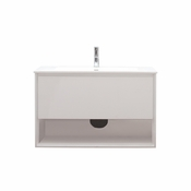 Avanity Sonoma 39 in. Vanity in White Finish with Integrated Vitreous China Top - SONOMA-VS39-WT
