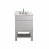 Avanity Tribeca 24 in. Vanity Only with Base in Chilled Gray Finish - TRIBECA-VB24-CG