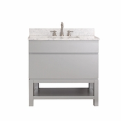 Avanity Tribeca 36 in. Vanity Only with Base in Chilled Gray Finish - TRIBECA-VB36-CG