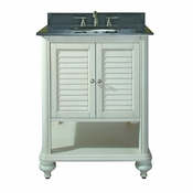 Avanity Tropica 24 in. Vanity Only in Antique White Finish - TROPICA-V24-AW