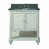 Avanity Tropica 30 in. Vanity Only in Antique White Finish - TROPICA-V30-AW