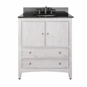 Avanity Westwood 30 in. Vanity Only in White Washed Finish - WESTWOOD-V30-WW