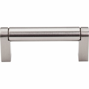 "Top Knobs - Bar Pulls Collection - Pennington Bar Pull 3"" (c-c) - Brushed Satin Nickel - M1001"