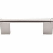 "Top Knobs - Bar Pulls Collection - Princetonian Bar Pull 3 3/4"" (c-c) - Brushed Satin Nickel - M1041"