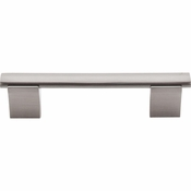 "Top Knobs - Bar Pulls Collection - Wellington Bar Pull 3 3/4"" (c-c) - Brushed Satin Nickel - M1080"
