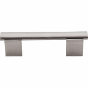 "Top Knobs - Bar Pulls Collection - Wellington Bar Pull 3"" (c-c) - Brushed Satin Nickel - M1079"
