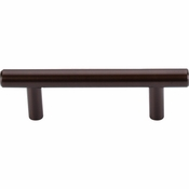 "Top Knobs - Bar Pulls Collection - Hopewell Bar Pull 3"" (c-c) - Oil Rubbed Bronze - M757A"