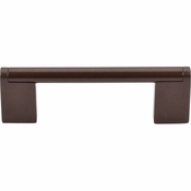 "Top Knobs - Bar Pulls Collection - Princetonian Bar Pull 3 3/4"" (c-c) - Oil Rubbed Bronze - M1069"