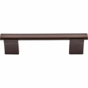 "Top Knobs - Bar Pulls Collection - Wellington Bar Pull 3 3/4"" (c-c) - Oil Rubbed Bronze - M1106"