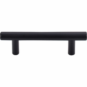"Top Knobs - Bar Pulls Collection - Hopewell Bar Pull 3"" (c-c) - Flat Black - M987"