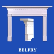 Belfry Mantel - Stain Grade - Red Oak - 36