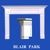 Blair Park Mantel - Stain Grade - Red Oak - 36